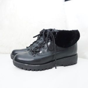 Micheal Kors leather boots size 8